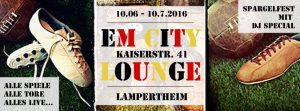 Fussball EM City Lounge Lampertheim