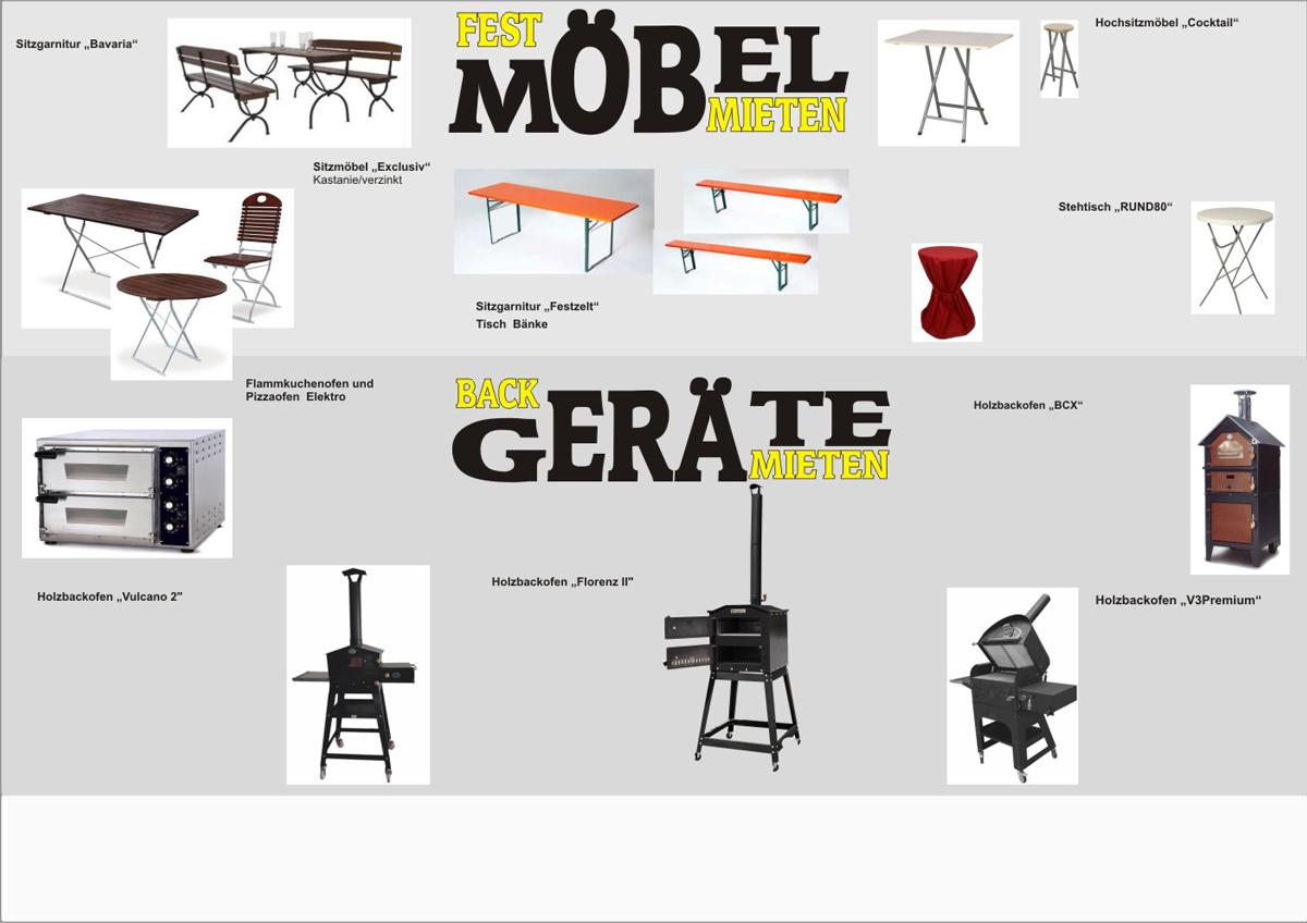 grill mieten pizzaofen stehtische festzeltgarnituren. Black Bedroom Furniture Sets. Home Design Ideas
