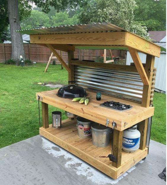 Kamado Outdoorküche Ideen zum Mitmachen gestalten und zeigen ...