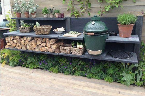 Outdoor Küche Gestalten : Kamado outdoorküche ideen zum mitmachen gestalten und zeigen