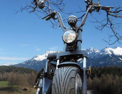 Elektroroller Scooter Chopper Verleih