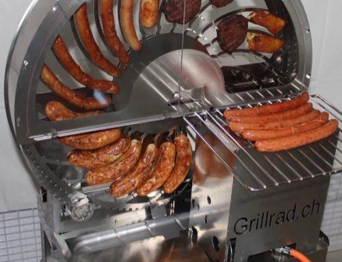 Grillrad Bratwurstrad mieten