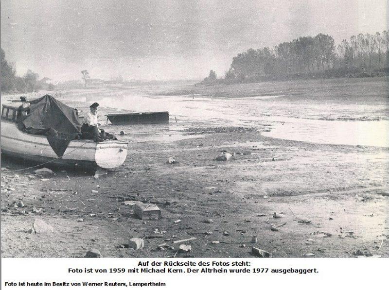 Foto zu Altrheininfo Michael Kern 1959