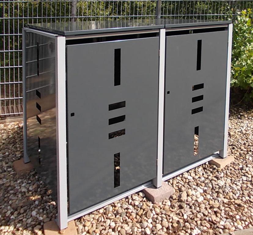 Sehr Mülltonnenbox-2er-ediger - Edinger Märkte JI91