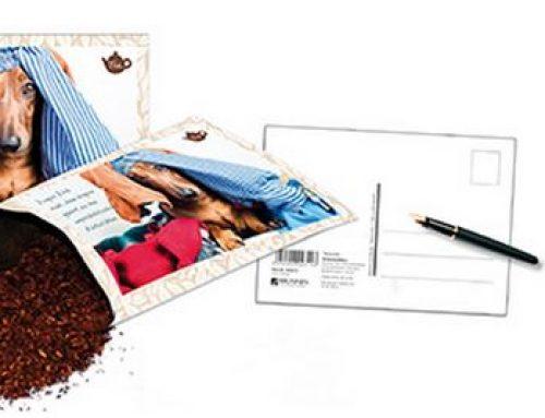 Postkarten mit Inhalt Kaffee – Gewürze – Tee – Sprüche