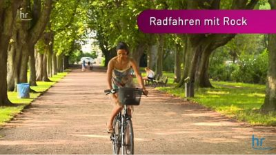 Ratgeber Video Radfahren mit Rock