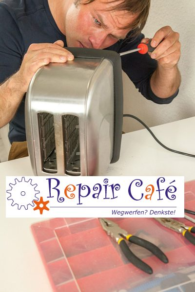 Repaircafe Ried Toaster