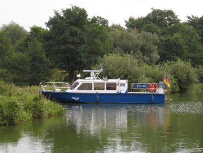Wasserschutzpolizei Altrhein Lampertheim
