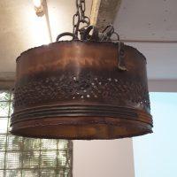 Kupferlampe E27 - Kupferfarben mit Leuchtmittel