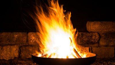 Feuerschale Terrassenfeuer