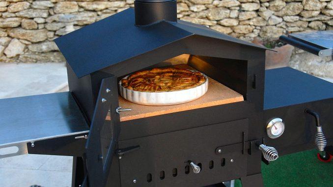 Holzbackofen Vulcano 2 von Freiluftküche
