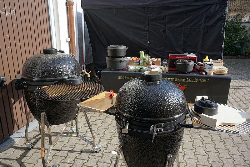 Outdoor Küche Kamado Joe : Kamadogrill 22 keramikgrillgerät joel edinger märkte