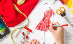 handmade kleider entwurf