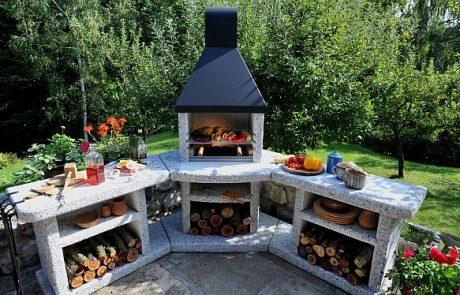 Wellfire Grillkamin/Außenküche von Freiluftküche